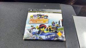Modnation Racers En Caja De Carton Para Sony Psp