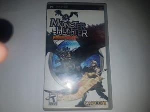 Monster Hunter Freedom Psp (cementerio De Los Videjuegos Ret