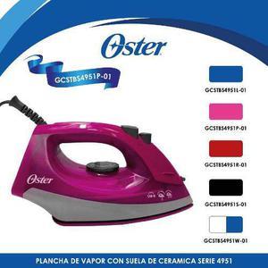 Plancha De Vapor Cerámica Serie 4950 Rosa Oster Gcstbs4951p