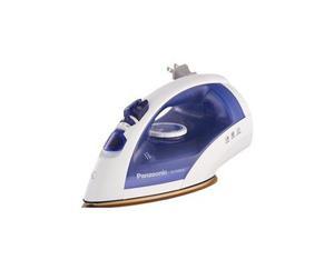 Plancha De Vapor Con Suela En U Ni-e500craza Panasonic Azul