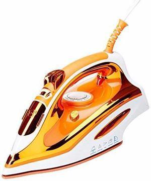 Plancha De Vapor Naranja Marca Man Mod. Pmp203b
