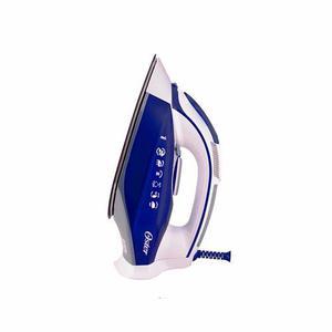 Plancha De Vapor Oster Con Suela De Cerámica Azul Y Blanca