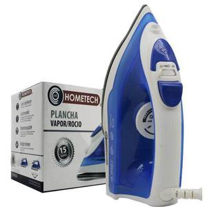 Plancha De Vapor / Rocio Antiadherente Hometech 1000 W