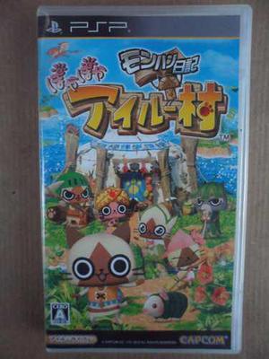 Playstation Psp Monster Hunter Diary Poka Poka Airu Mura