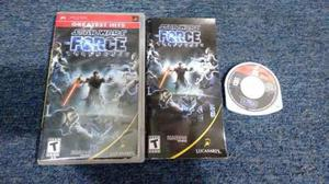 Star Wars The Force Unleashed Completo Para Sony Psp