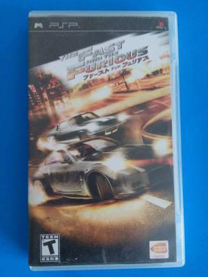 The Fast And The Furious Psp Playstation Trqs Rapido Furioso