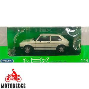 Volkswagen Caribe Golf 1 Gti Blanca Welly 1/18