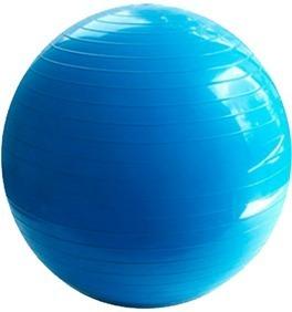 1 Pelotas De Pilates, Yoga De 65 Cm Azul / Incluye Bomba