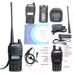 2 Radio Baofeng Uv 82 Doble Banda Vhf Uhf Fm Escaner Lam