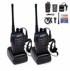 2 Radios Comunicación Portátil Baofeng 2 Vías Bf888s No