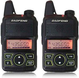 2 (un Par) Mini Radio Baofeng Bf-t1 Uhf * Envio Gratis *