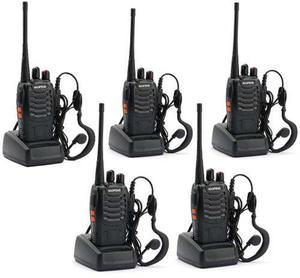 5 Radios Comunicación Portátil Baofeng 2 Vías Bf888s No