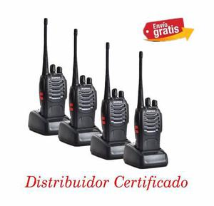 Baofeng Radio Bf-888s Walkie Talkie Uhf 400-470mhz Pack-4