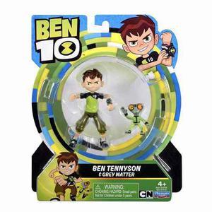 Ben 10 Figura Ben Tennyson & Materia Gris 2017 14cm