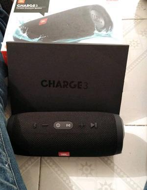 Bocina JBL Charge 3 Bluetooth contra agua