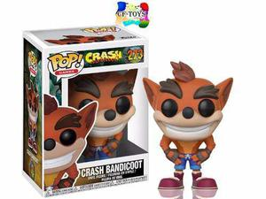 Crash Bandicoot Zorro Guantes Funko Pop Videojuego Ps4 Cf