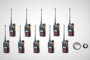 Diez Radios Portatil Baofeng Uv-6r Vhf/uhf Doble Banda 5w.