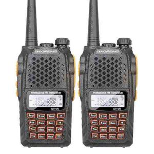 Dos Radios Portatil Baofeng Uv-6r Vhf/uhf Doble Banda 5w.