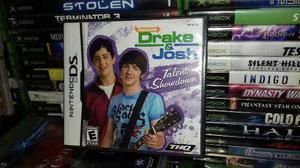 Drake Y Josh,nintendo Ds,con Caja E Instructivo.