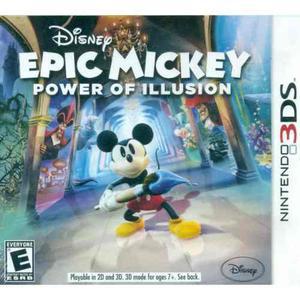 Epic Mickey Power Of Illusion - Nintendo 3ds (Nuevo)