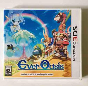 Ever Oasis Nintendo 3ds 2ds New 3ds New 2ds Nuevo Sellado