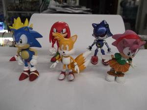 Figuras De Sonic The Hedgehog Set De 6 Pzas