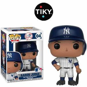 Funko Pop Aaron Judge Mlb New York Yankees Caja C/ Detalles
