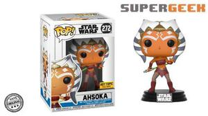 Funko Pop Ahsoka Clone Wars Star Wars Hot Topic (1)