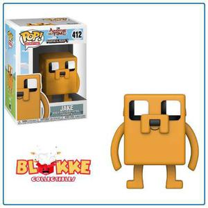 Funko Pop Animation Adventure Time Hora De Aventura Jake 412