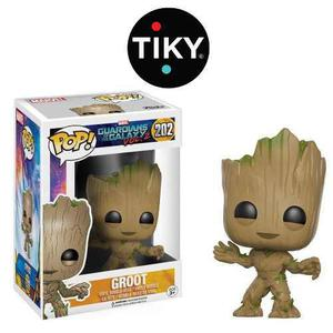 Funko Pop Baby Groot Guardianes De La Galaxy Marvel
