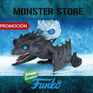 Funko Pop Game Of Throne Night King & Icy Viserion Promocion