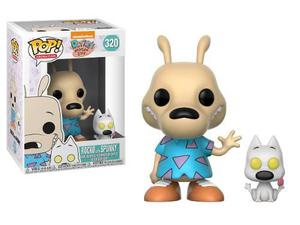 Funko Pop Nickelodeon Rocko With Spunky 320 Modern Life