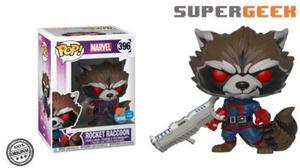 Funko Pop Rocket Raccoon Px Exclusive Marvel (1)