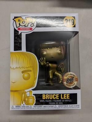 Funko Pop Sdcc2018 - Bruce Lee Gold Game Death Chacos