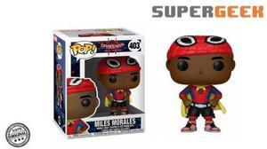Funko Pop Spider Man Miles Morales Custome Spiderverse (1