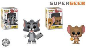 Funko Pop - Tom Y Jerry Animación Set (2)