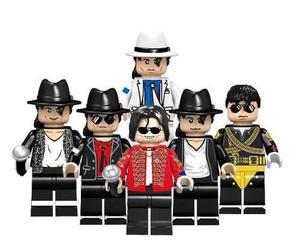 Genial Set De 6 Figuras Michael Jackson Compatible Bloques