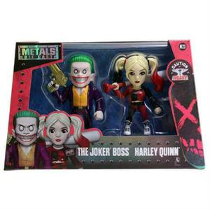Joker Boss Harley Quinn Metals 4 Twin Pack
