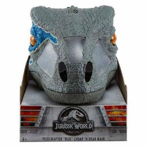 Jurassic World Mascara Electronica Raptor Velociraptor Blue