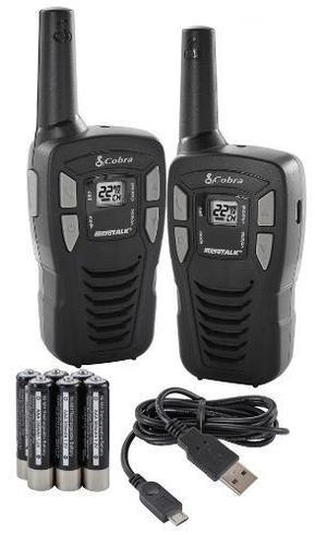 Kit Radios Cobra Microtalk 26km* 16 Millas Cxt195 Gmrs Frs
