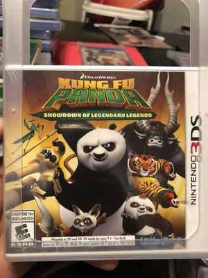 Kung Fu Panda Nintendo 3ds Nuevo Sellado Envío Gratis