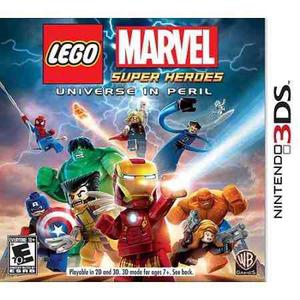 Lego Marvel Super Heroes Universe In Peril.-3ds