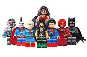 Liga De La Justicia Justice League 2017 Compatible Bloques