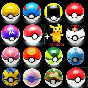 Lote 10 Pokeball 7cm 10 Pokemon Al Azar Pokebolas Con Envio