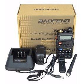 Lote 3 Radio Baofeng Uv5r Doble Banda Vhf Uhf Uv-5r Profesio
