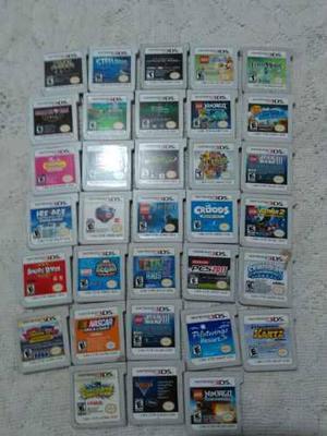 Lote De 33 Juegos Nintendo 3ds (mario,golf,spiderman,lego)
