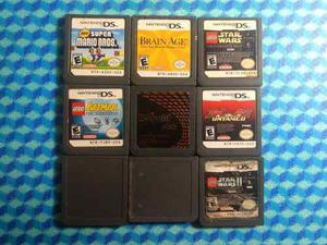 Lote De 9 Juegos Para Nintendo Ds
