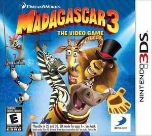 Madagascar 3: La Vídeo Juego - Nintendo 3ds