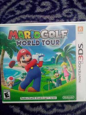 Mario Golf World Tour Nintendo 3ds Nuev Sellado Envio Gratis