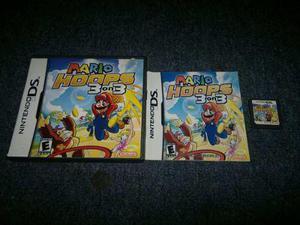 Mario Hoops 3 On 3 Completo Para Nintendo Ds,excelente